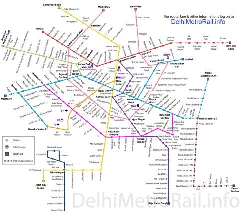 Delhi Metro Master Plan 2021